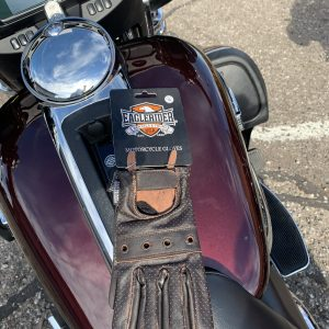 EagleRider Dark Brown Lightweight Leather Glove