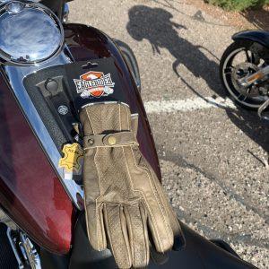 EagleRider Tan Leather Glove