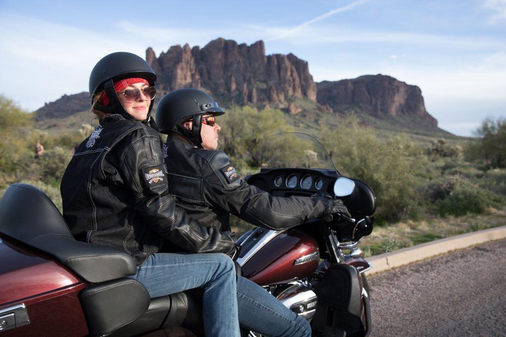 Harley-Davidson Rentals - Superstition Rock with Electra Glide Ultra
